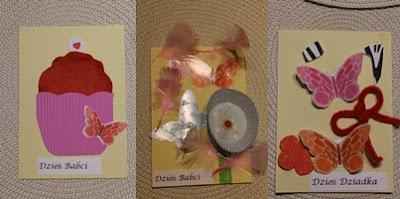 kartki na Dzień Babci i Dzień Dziadka