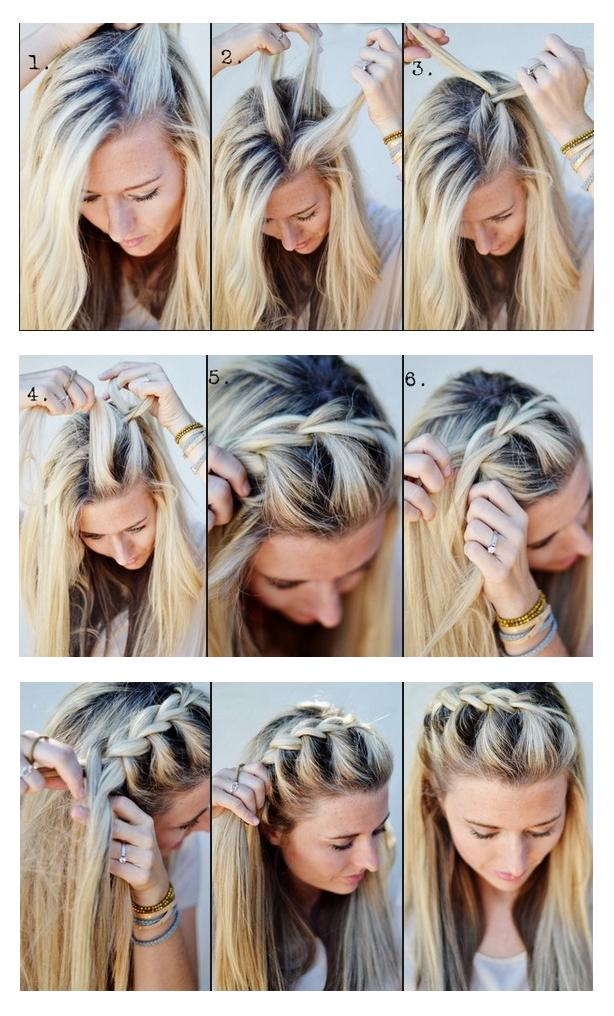 It Is Called The Half Up Side French Braid I Am Fairly Certain This Look Can Be Worn On All Types Of Hair Long Short Thin Thick Pretty Versatile