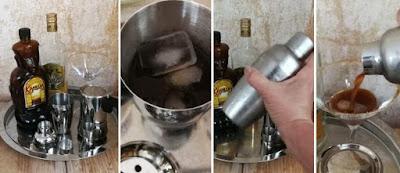 Zubereitung Espresso Tequila