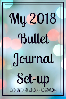 My 2018 Bullet Journal Set-up