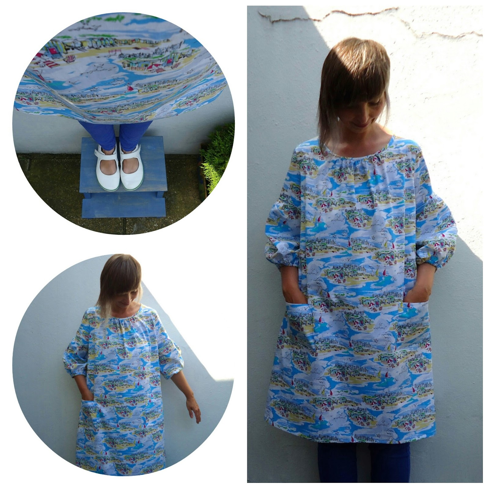 Stylish Dress Book, seaside smock B