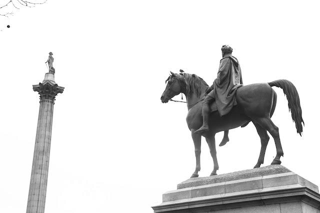 Statues Trafalgar Square