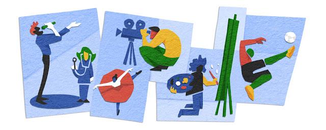 Freedom Day 2016 - Google Doodle
