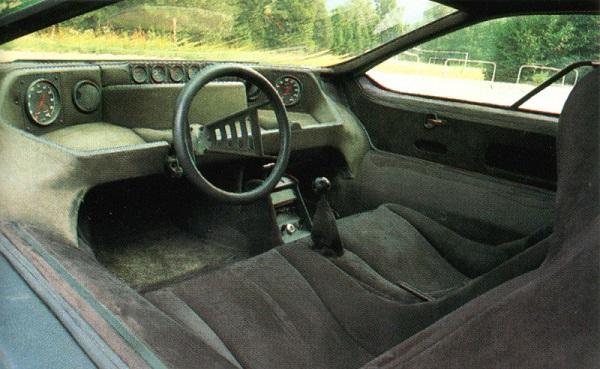 Interior Alfa Romeo Carabo (Bertone Carabo)