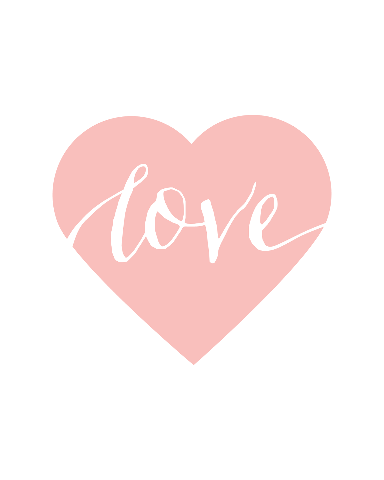 Free printables for happy occasions : Free Valentines Day