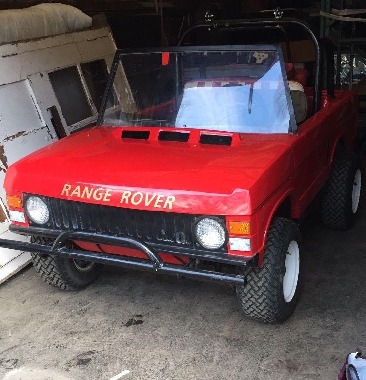 Range Rover Ride On Kids Ride-On Toy Vintage 1980s