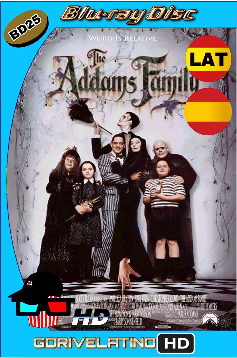 La Familia Addams LAT-CAS (1991) Full Bluray BD25 ISO
