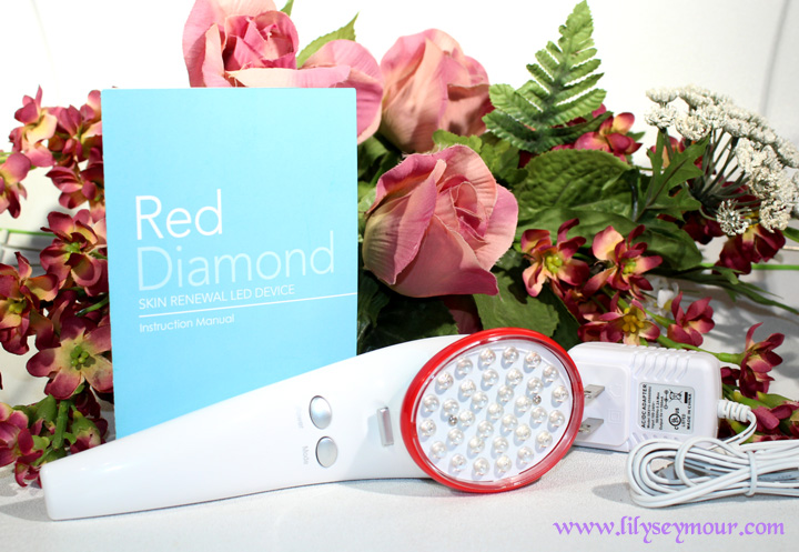 Red Diamond Skin Renewal LED Device