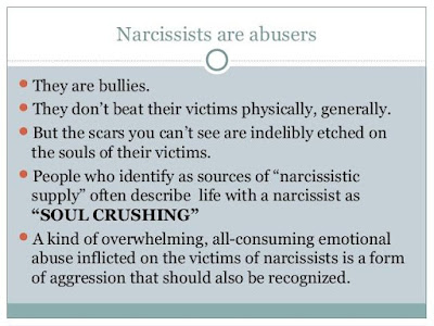 Narcissists are bullies