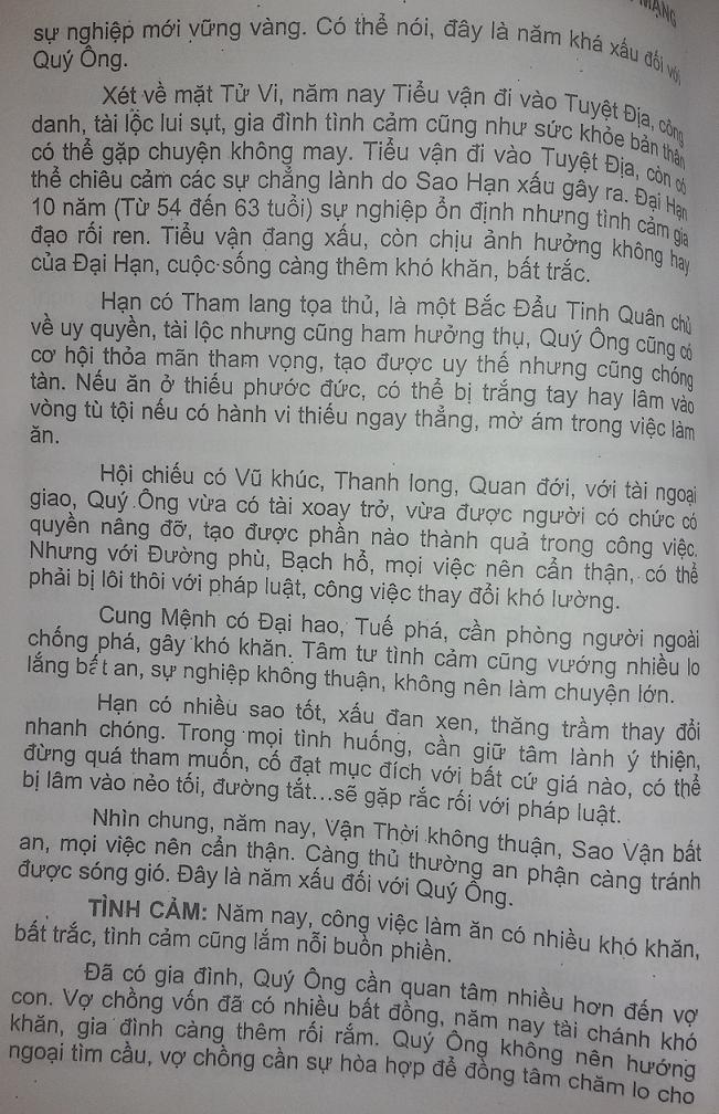 Xem tuoi Quy Mao 1963