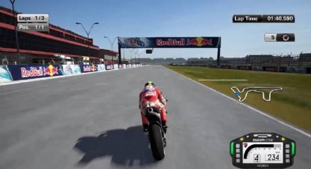MotoGP 15 PC Games Gameplay