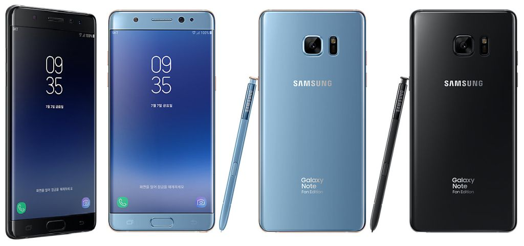 Samsung Galaxy Note Fan Edition (2017) SM-N935F with Specifications