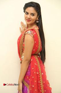 Anchor Srimukhi Pictures in Half Saree at Aatadukundam Raa Movie Audio Launch  0059