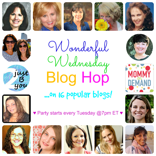 Wonderful Wednesday Blog Hop #25
