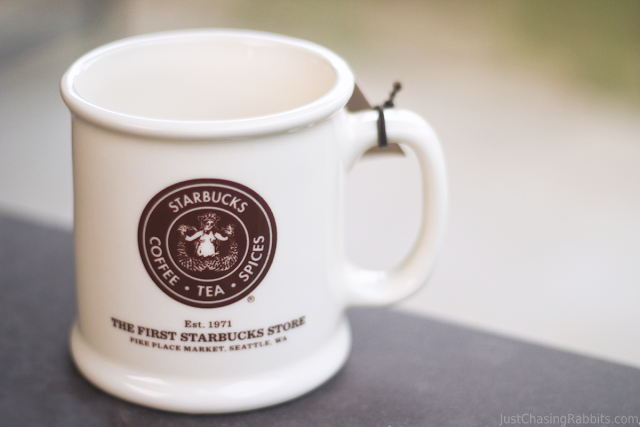 Mug from the first Starbucks Store