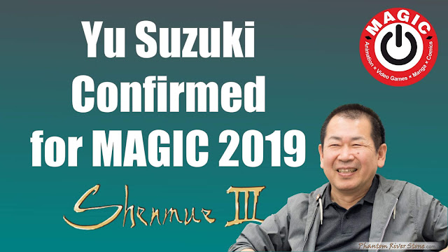 Yu Suzuki Confirmed for MAGIC 2019