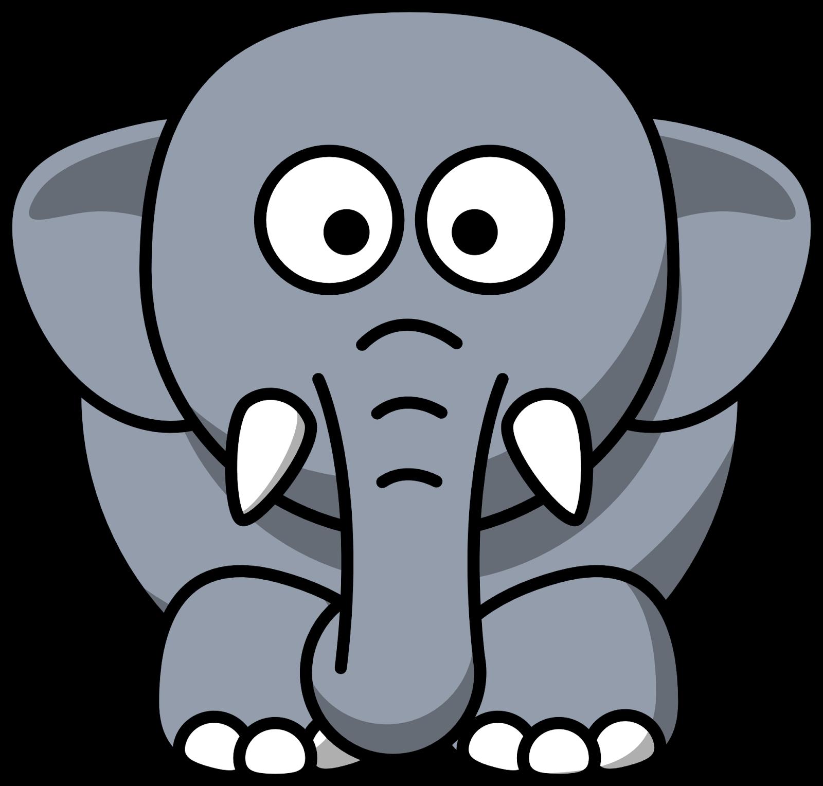Top Contoh Gambar Kartun Gajah
