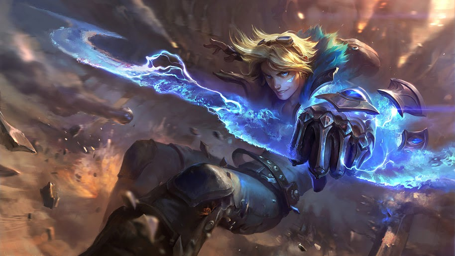 TOP 10: Best Visually Designed Champions in League of Legends (Part I) 6
