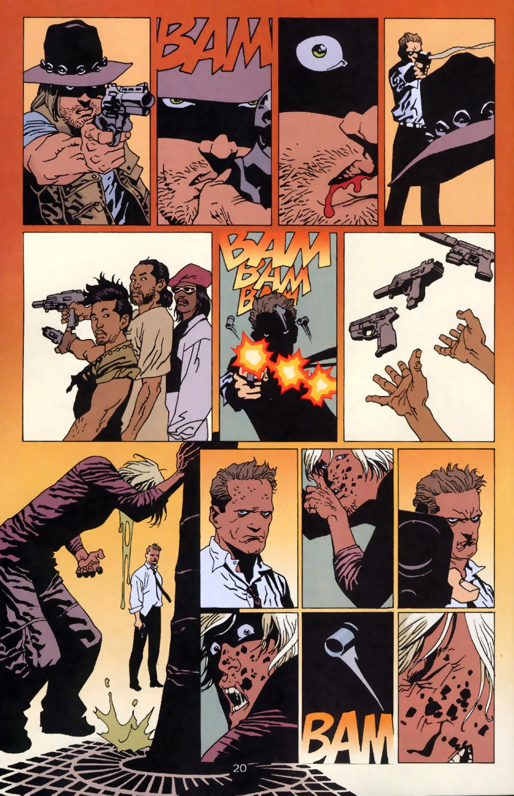 Read online 100 Bullets comic -  Issue #39 - 22