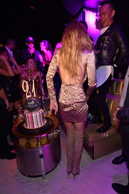 Gigi Hadid – Сelebration of her 21st birthday in Las Vegas