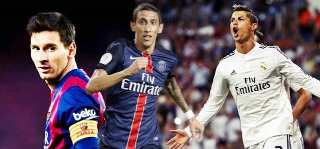 Messi ou Cristiano Ronaldo? Dí Maria disse quem ele acha melhor