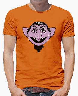 Camiseta Conde Draco Barrio Sesamo Sesam Street