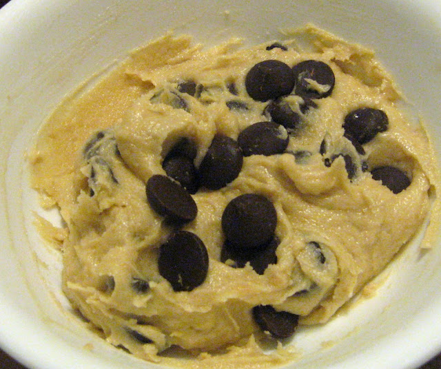 Eatable Chocolate Chip Cookie Dough