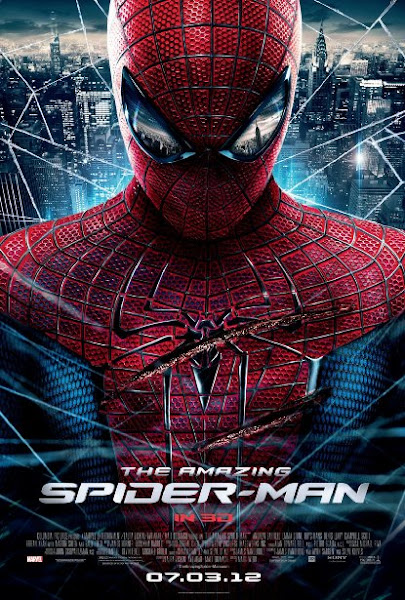 Poster Of The Amazing Spider Man 2012 720p Hindi BRRip Dual Audio