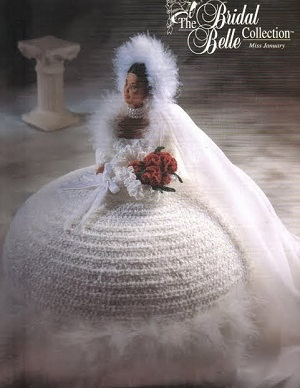 Vestido de Noiva de Crochê, The Bridal Belle Collection, Miss Janeiro 1998