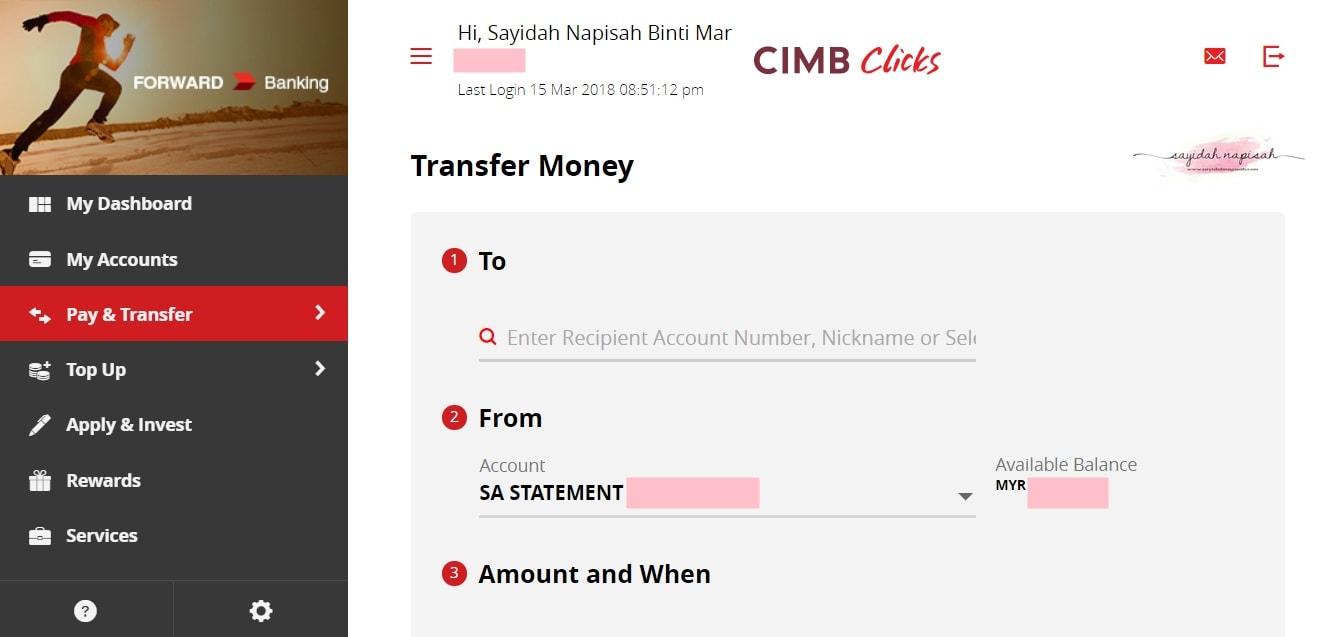 CIMB Clicks berwajah baru! Lebih fresh look! (Mac 2018)