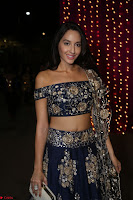 Nora Fatehi in Blue Emroidery Ghagra Choli at Zee Telugu Apsara Awards 2017 07.JPG