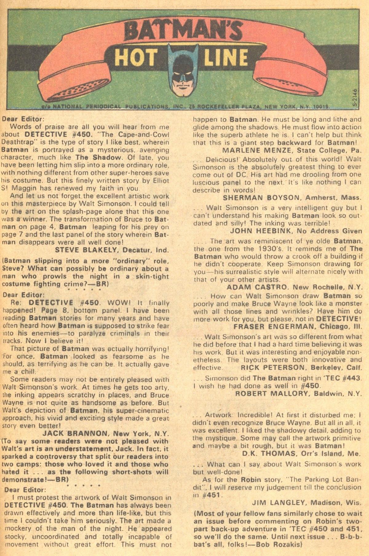 Detective Comics (1937) 454 Page 32