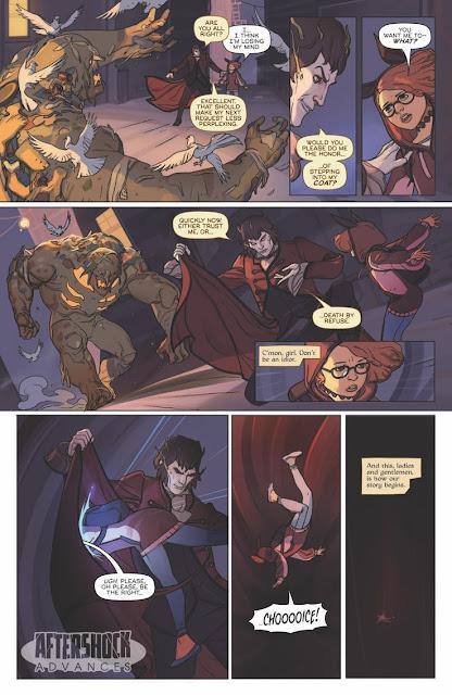 """Oberon"" núm 1, de Ryan Parrot y Milos Slavkovic - AfterShock Comics"