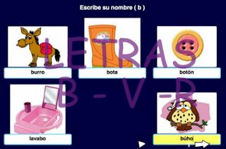 http://www.edu.xunta.es/centros/ceipchanopinheiro/aulavirtual/file.php/3/rsagra/1o_BASEUNHA/LENGUA/LIM_B_V/letras__b___v__.html