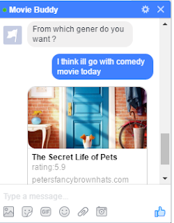 chat bot conversation