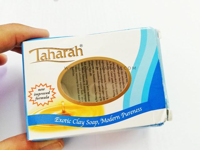 SABUN TAHARAH UNTUK SAMAK !