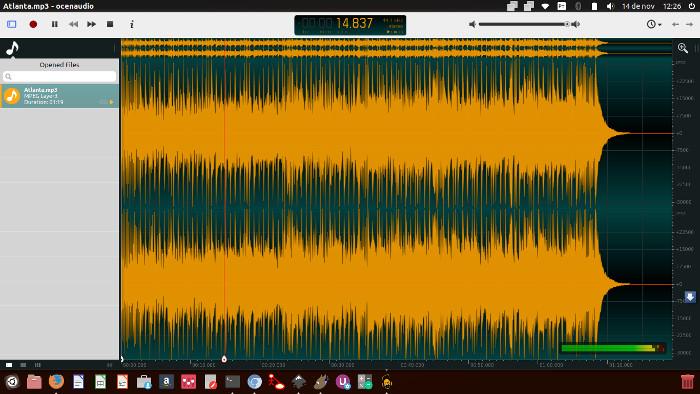 editor de audio oceanaudio