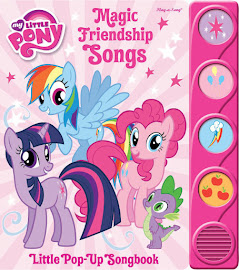 MLP Magic Friendship Songs Book Media