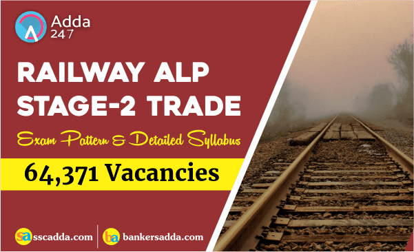 RRB ALP Syllabus & Exam Pattern 2018: Detailed Second Stage