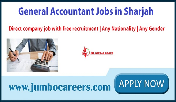Latest Accountant Jobs in Sharjah, Accountant jobs in UAE 2018,