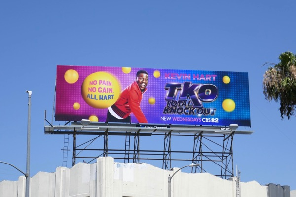 TKO Total Knock Out series billboard