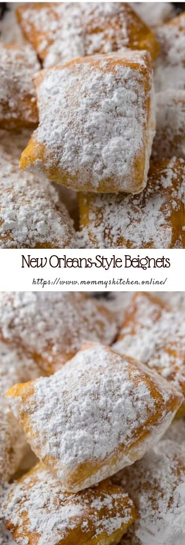 New Orleans-Style Beignets #dessertcake #easyrecipe