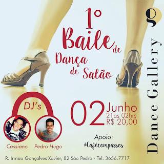 Primeiro baile de dança de salão da Dance Galery de Adriana Coutinho