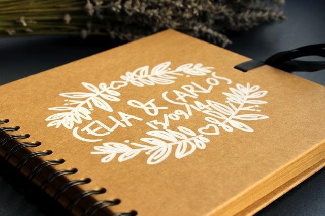 bodas libro de firmas personalizado craft hermanas bolena shop