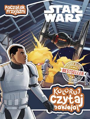 Star Wars: Początek przyjaźni (Koloruj, czytaj, naklejaj) już w sprzedaży!