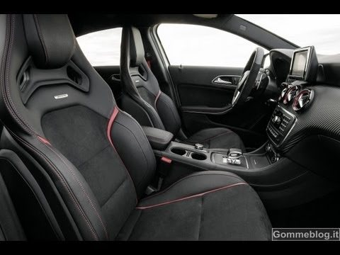 Mercedes-Benz a45 amg interior