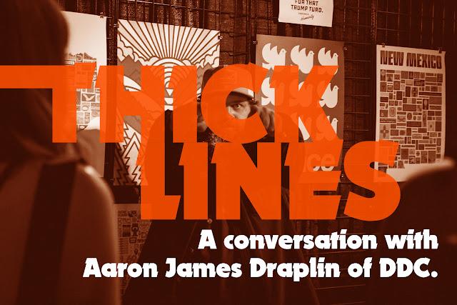 Aaron James Draplin, DDC. Austin, TX.