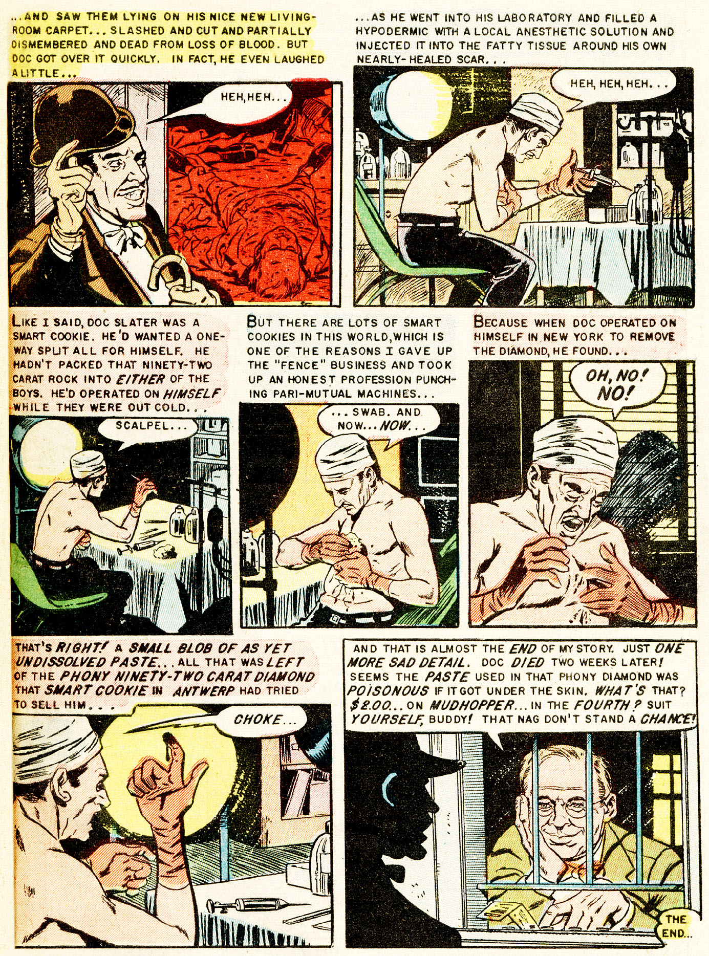 Read online Shock SuspenStories comic -  Issue #17 - 33