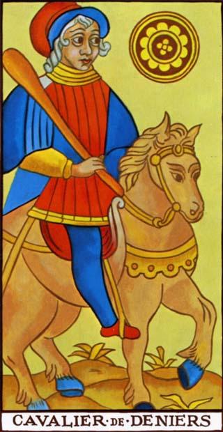 La Signification Exacte Du Cavalier De Denier Du Tarot De Marseille