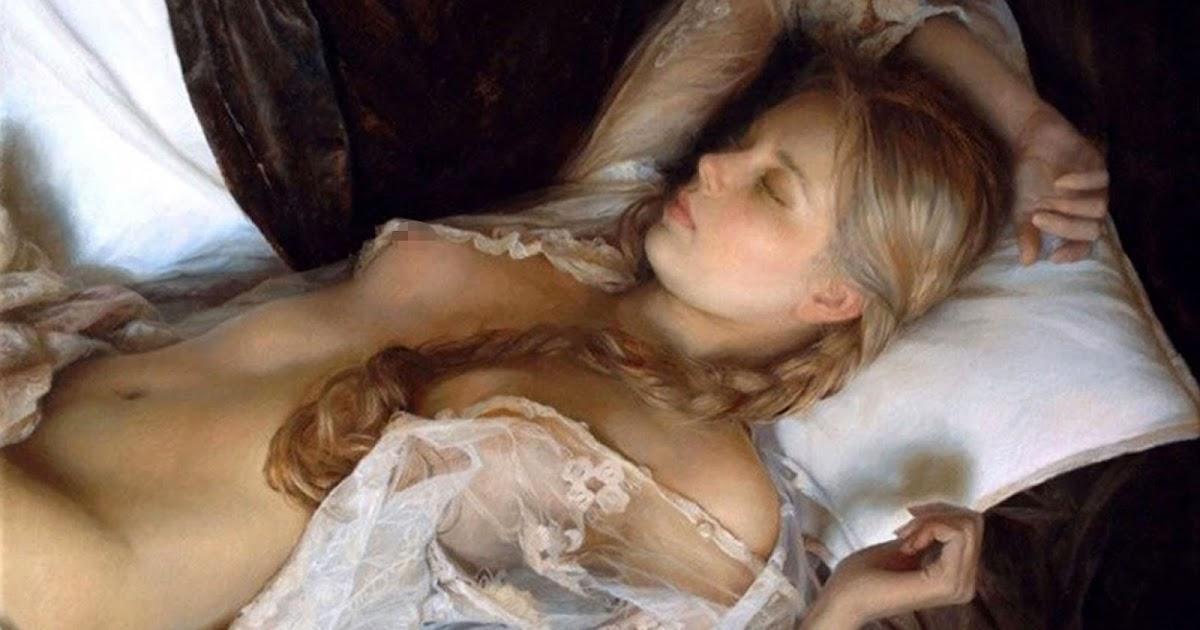 dibujante pintor ruso mujeres atractivas seductoras